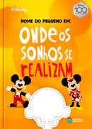 Capa do livro personalizado do Onde Os Sonhos Se Realizam