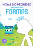 Capa do livro personalizado do Cidade das Formas
