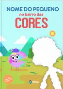 Capa do livro personalizado do Bairro das Cores