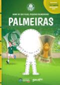 Capa do livro personalizado do Palmeiras - Meu Pequeno Palmeirense