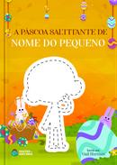 Capa do livro personalizado A Páscoa Saltitante