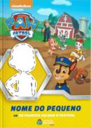 Capa do livro personalizado do Patrulha Canina - Os Filhotes salvam o festival
