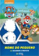 Capa do livro personalizado do Patrulha Canina - Salvando a prefeita