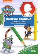 Capa do livro personalizado do Prontos para Colorir
