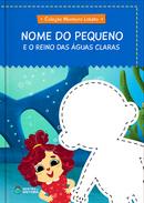 Capa do livro personalizado do Reino das Águas Claras