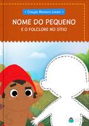 Capa do livro personalizado do Folclore no Sítio