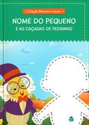 Capa do livro personalizado do As Caçadas de Pedrinho