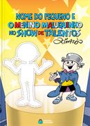 Capa do livro personalizado do Show de Talentos