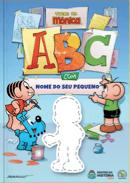 Capa do livro personalizado da Turma da Mônica - ABC com a Turma da Mônica