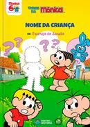Capa do livro personalizado da Turma da Mônica - Sumiço do Sansão