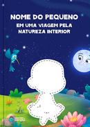 Capa do livro personalizado da Dentro da História - Uma Viagem pela Natureza Interior