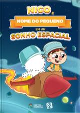 Capa do livro personalizado do DSOP - Sonho Espacial