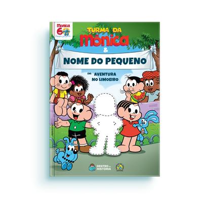 Turma Da Monica Livro Personalizado Infantil